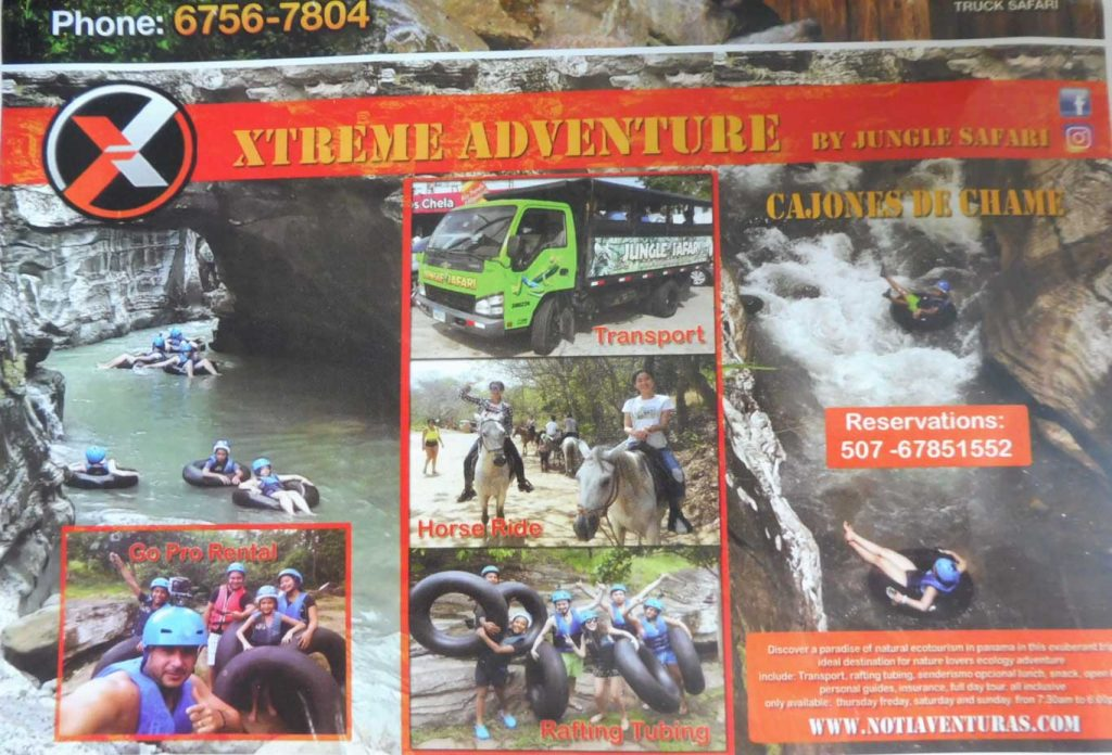 EXCURSIONS PANAMA CITY AVENTURE