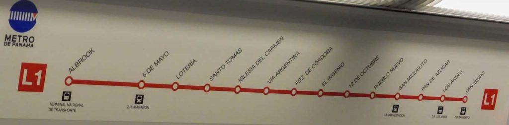 metro line panama city 1 day