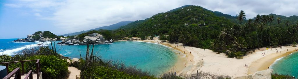 visit in 1 day Park tayrona and see the best beach