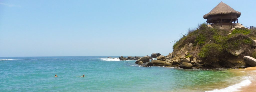 Best beach in tayrona park when we visited in 1 day
