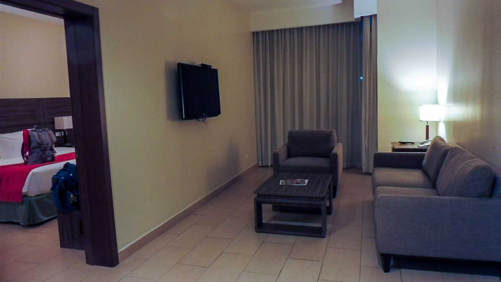 PANAMA CITY OUR CHEAP HOTEL CLARION VICTORIA