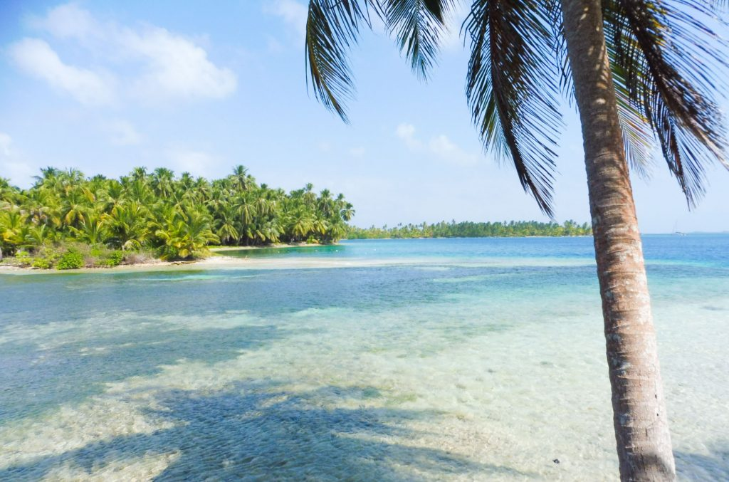 a beautiful beach for what to do on san blas