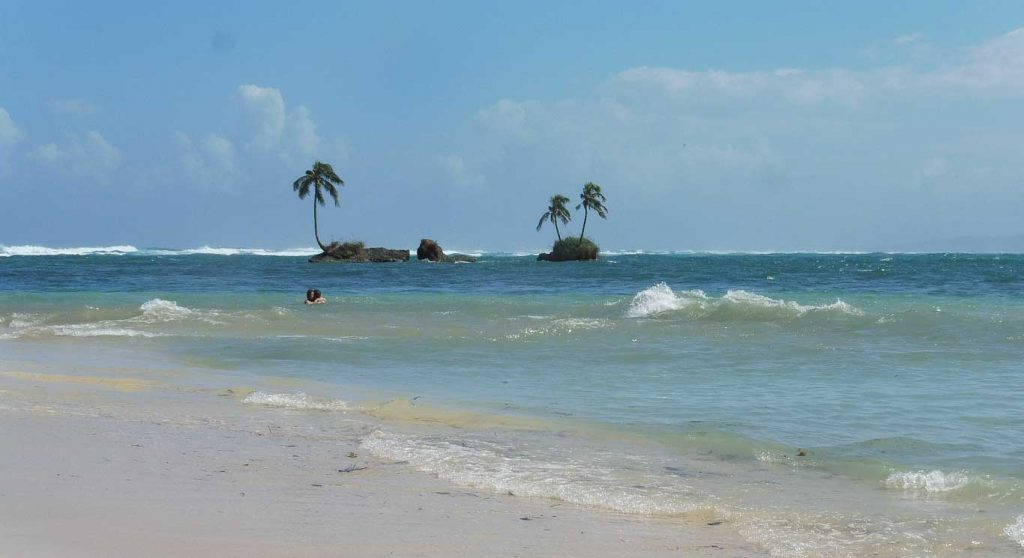 PLAYA ZAPATILLA IN MY 12 DAYS TOUR IN PANAMA ITINERARY AND MAP