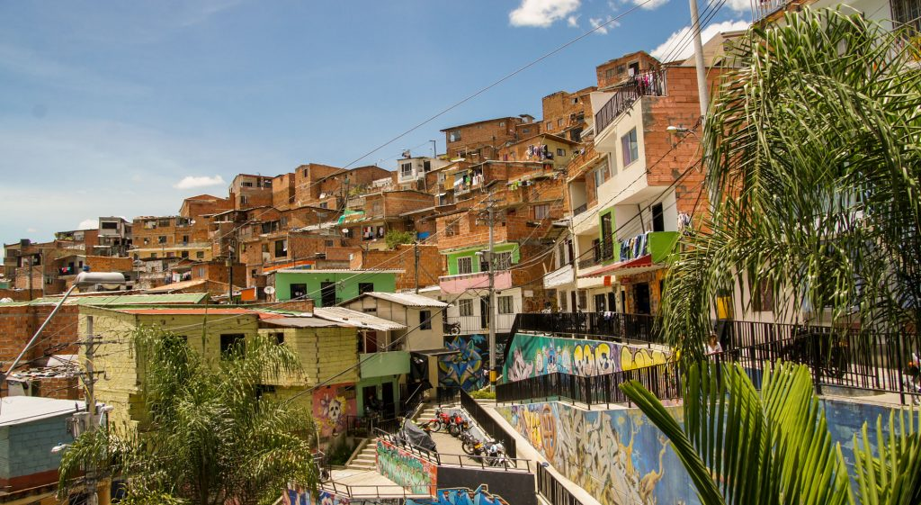 Dangerous districts in Medellin and best neighborhoods in Medellin for tourists