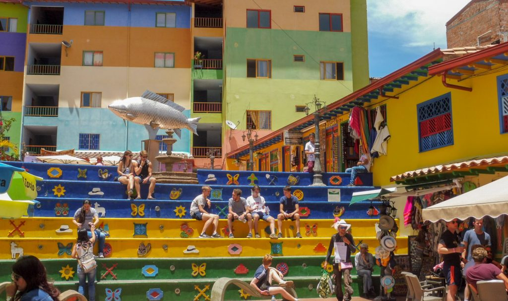 Principal place in Guatape - What to do around medellin