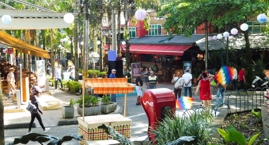 what to do in Medellin Poblado district