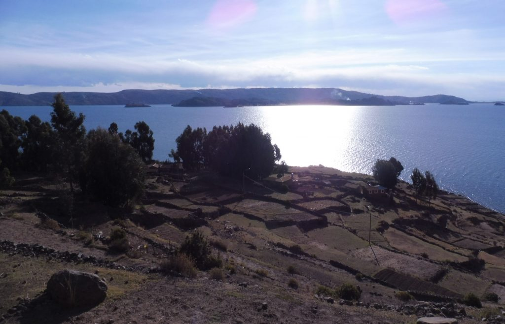 amantani island a beautiful island in titicaca lake