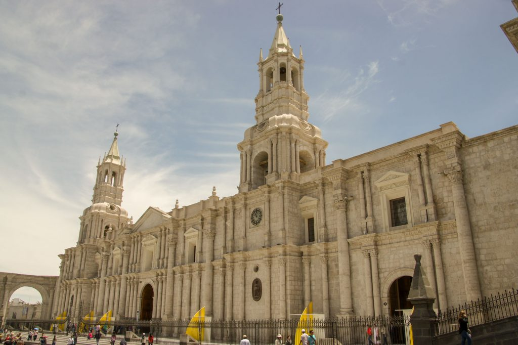 Arequipa in 1 day - Cathedral