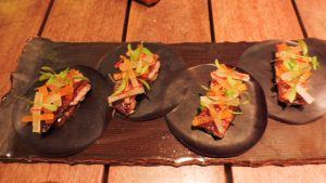 CUY appetizer in ASTRID Y GASTON RESTAURANT IN LIMA