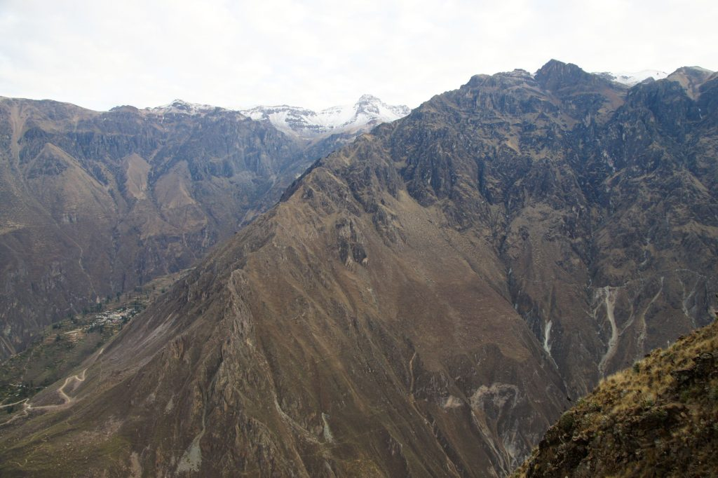 Colca Canyon mountains and view