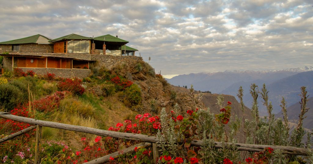 Cabanaconde in Colca Canyon our night in Granja del Colca