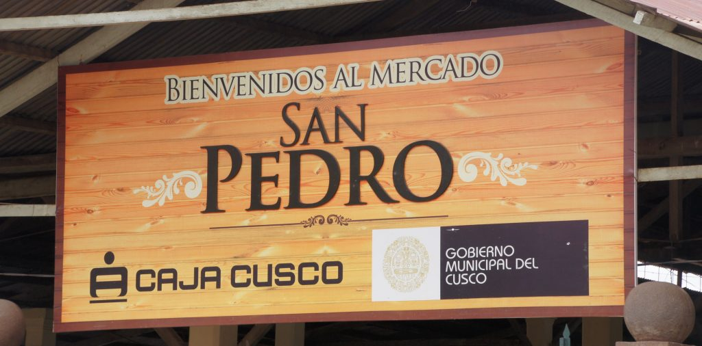 Cusco in 1 day - San Pedro market