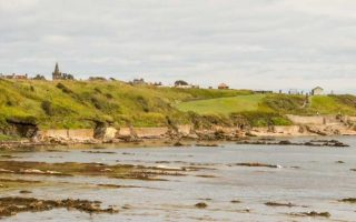 East Neuk - St Monans - Anstruther -Saint Andrews My Itinerary and Map of the route