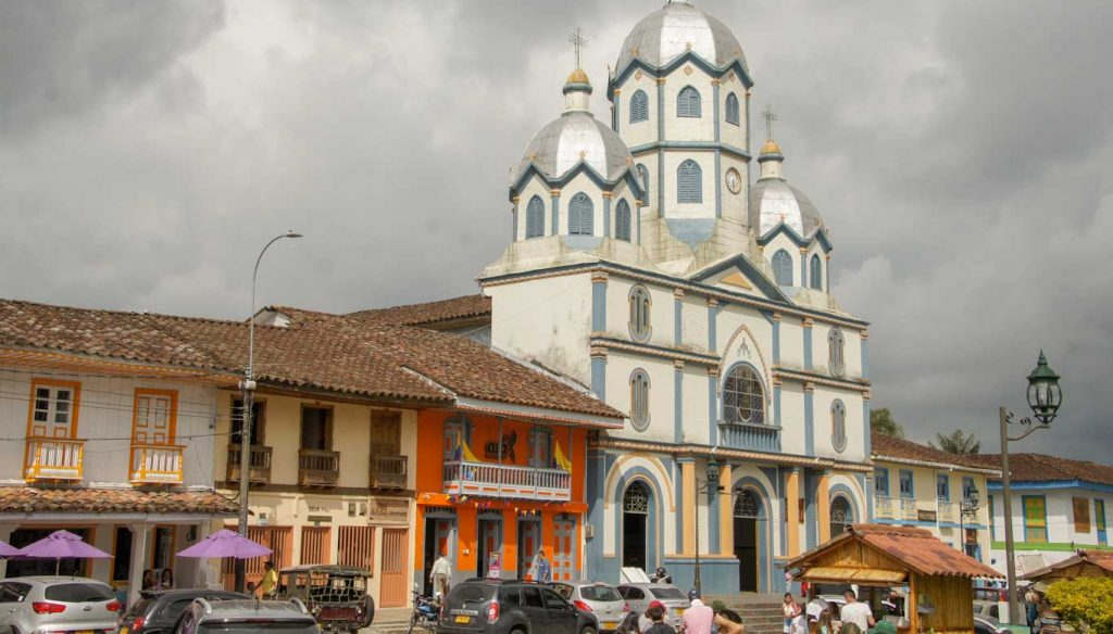 The coffee region in Colombia Visit the beautifull Filandia city