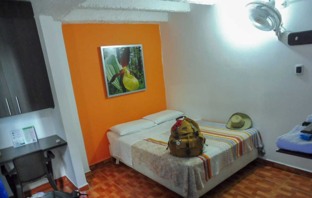 GOING FROM TATACOA DESERT TO COFFEE AREA IN COLOMBIA CHEAP HOTEL IN ARMENIA