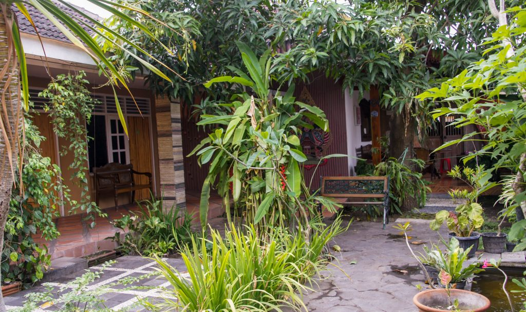 our cheap hotel in yogyakarta in Indonesia