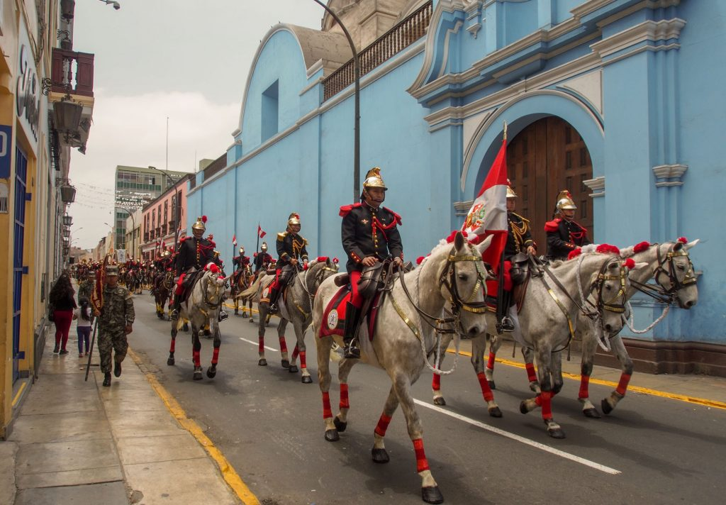 How to visit Lima in 1 day - my city tour on foot THE REPUBLICAN GUARD