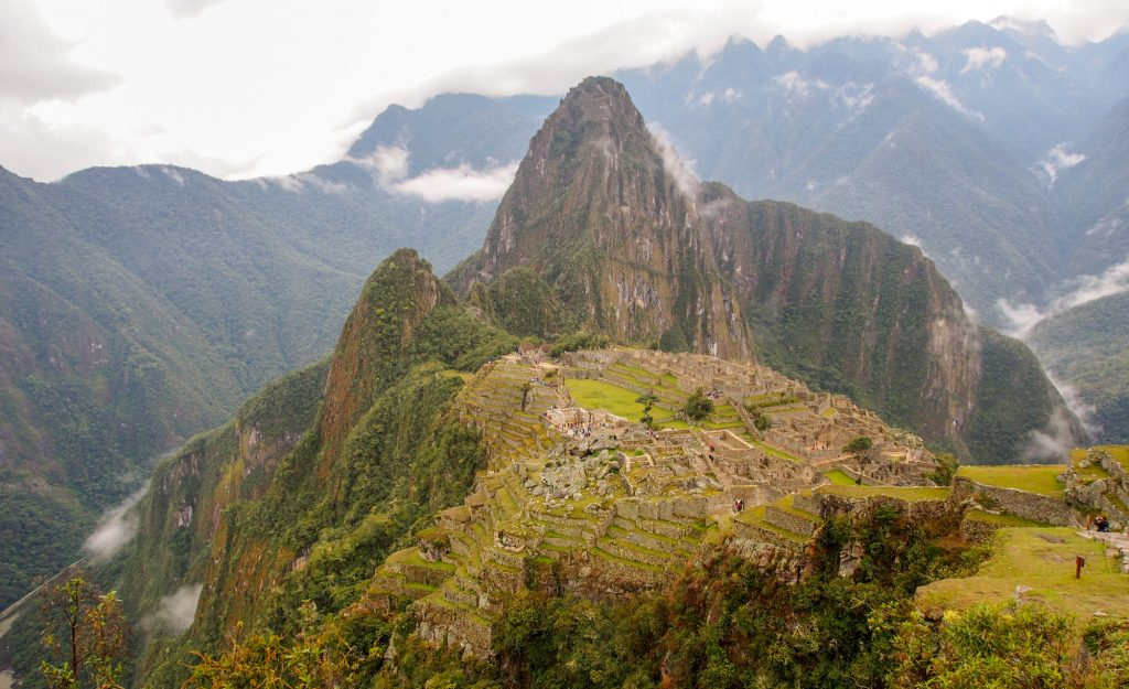 Travel route with itinerary and map for my Peru trip