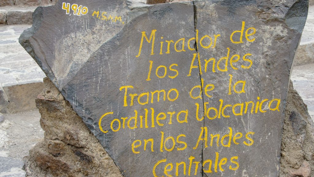 Mirador de los andes on my road to Canyon del Colca from Arequipa