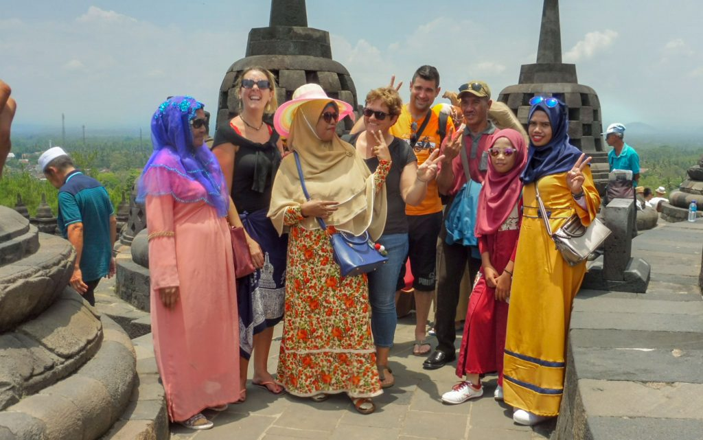 Javanese with us during our 6 days Java tour