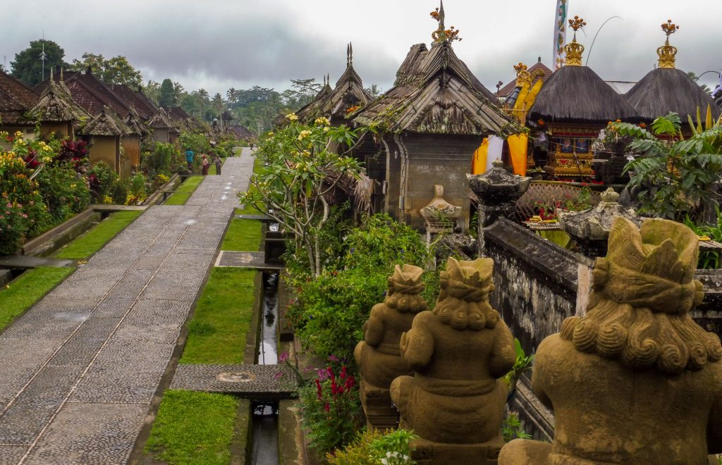 Bali center tour - What to see around Ubud PENGLIPURAN OLD VILLAGE