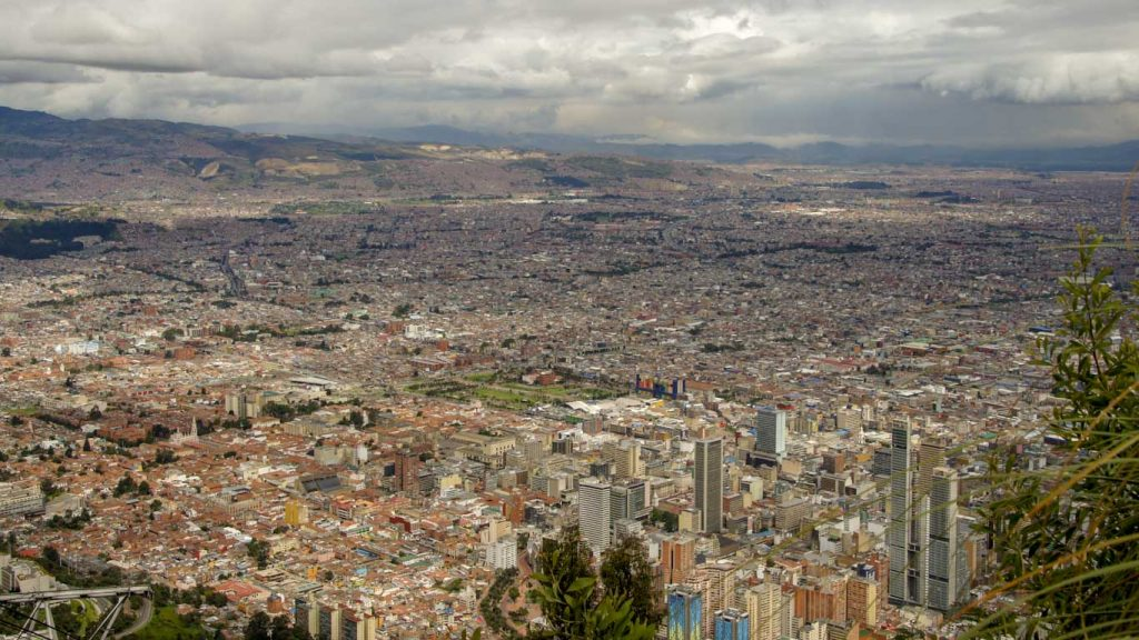 Bogota in 1 day Mirador Monserrate