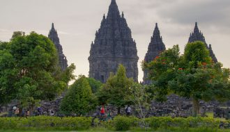 Java 6 days tour my itinerary and map