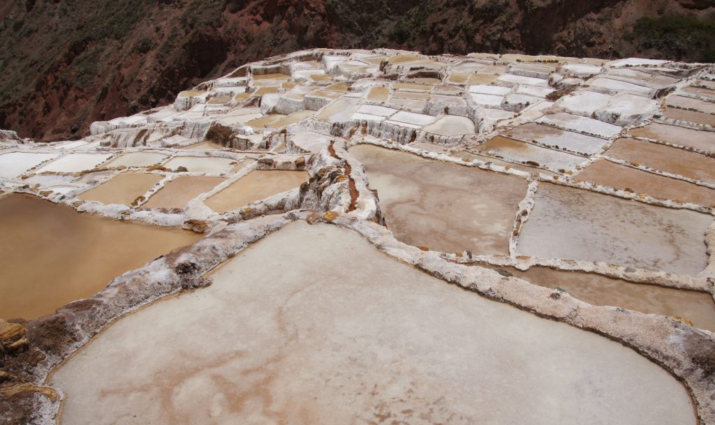 salinas de maras in sacred valley