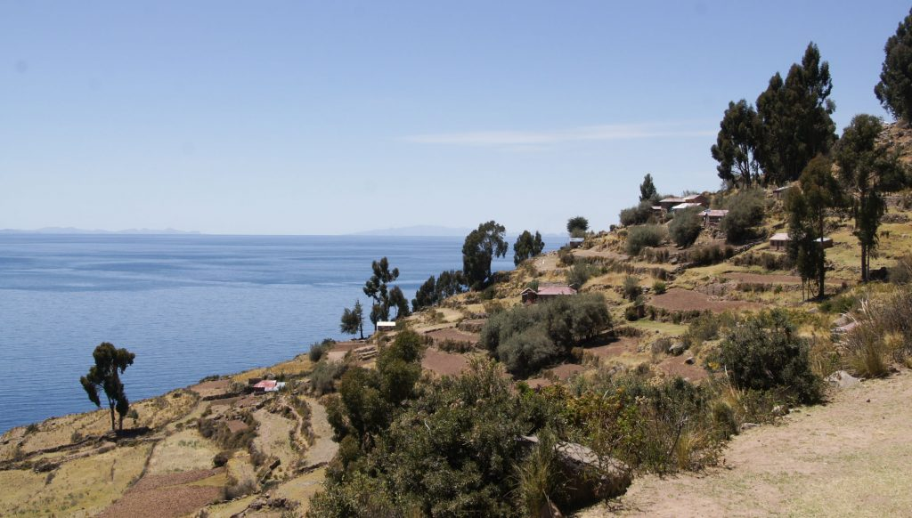 Taquile one of the most beautiful islands of Lake Titicaca