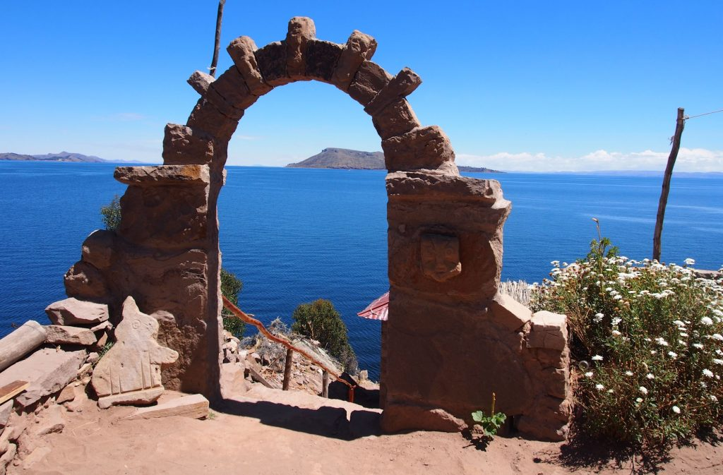 Taquile one of the most beautiful islands of Lake Titicaca - Our 1 day tour on Taquile Island a view over the lake