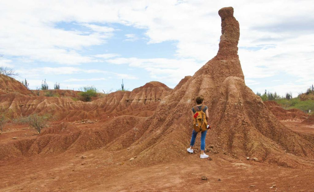 How to visit tatacoa desert in one day First the red desert