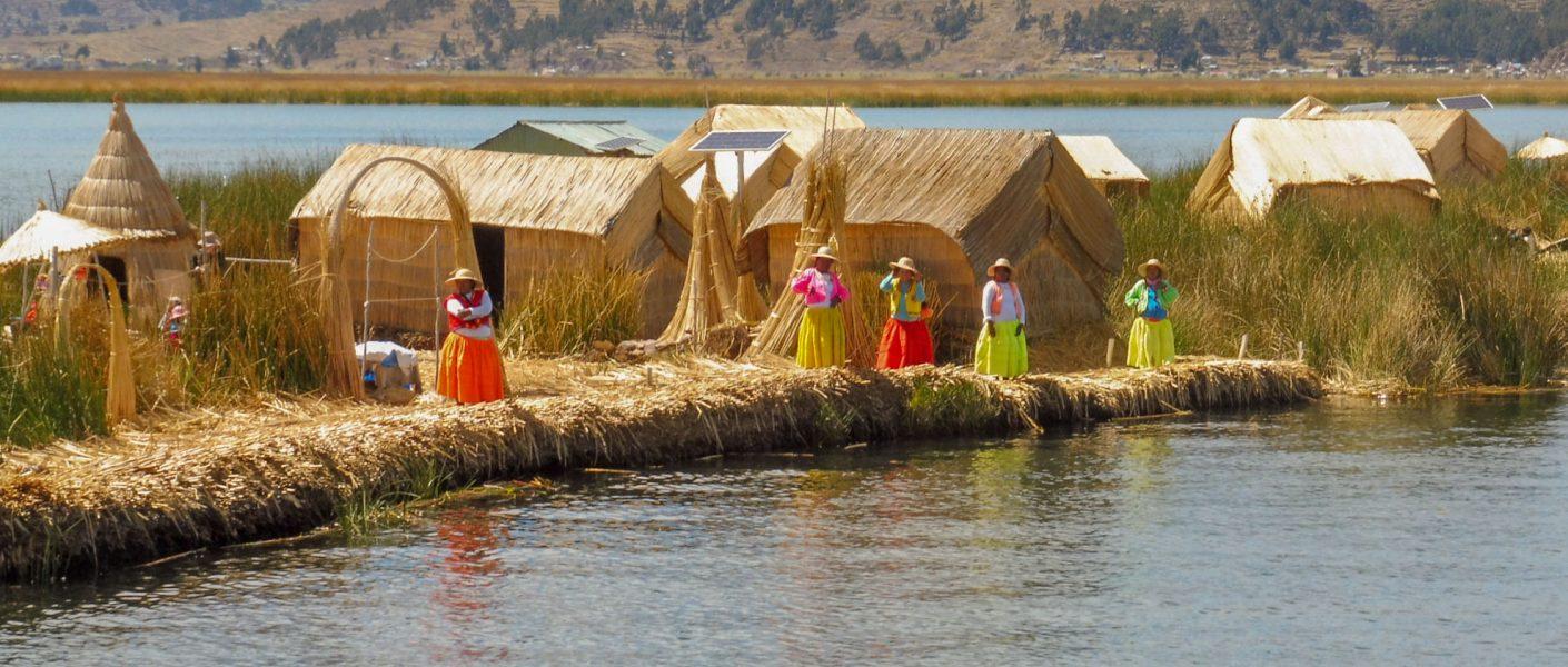 My Lake Titicaca tour - floating islands of Uros and Amantani island with night homestay