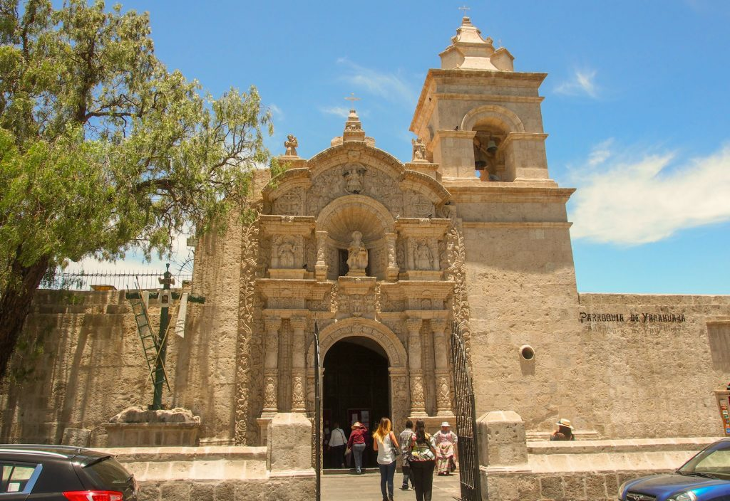 Arequipa in 2 days - Church of San Juan Bautista