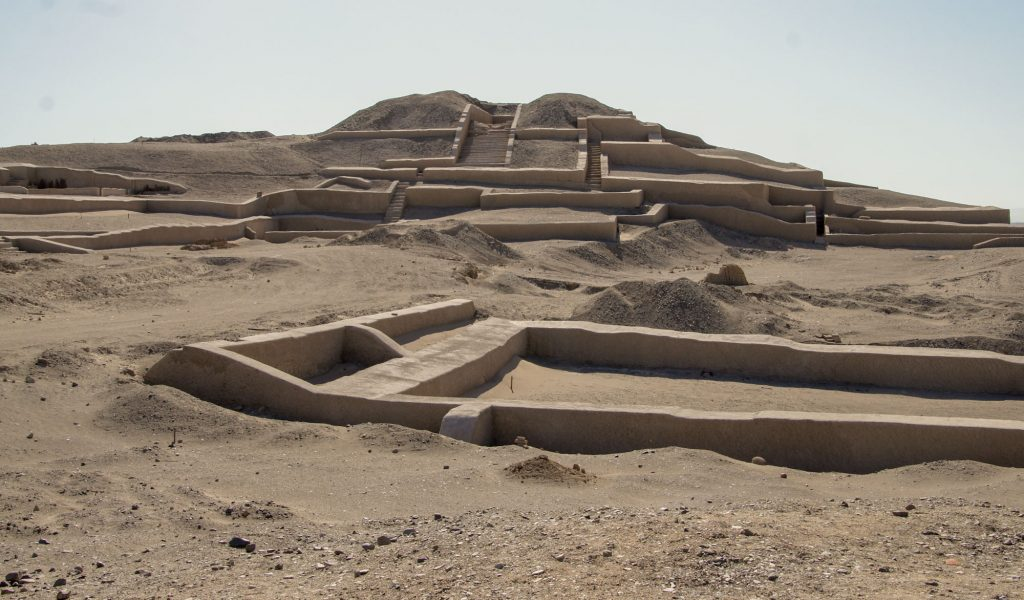 Cahouachi piramids around Nazca