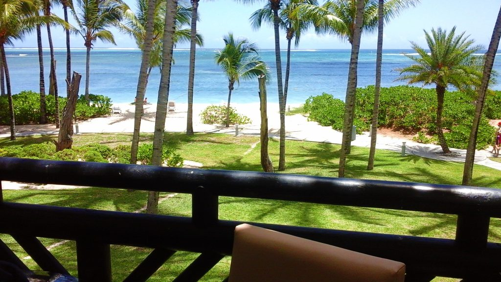 Which is the best coast to stay in Mauritius our room hotel view on the beach HOTEL RIU well located