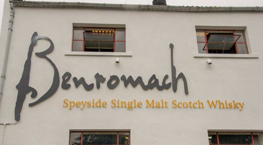 Highlands Benromach wisky Distillery