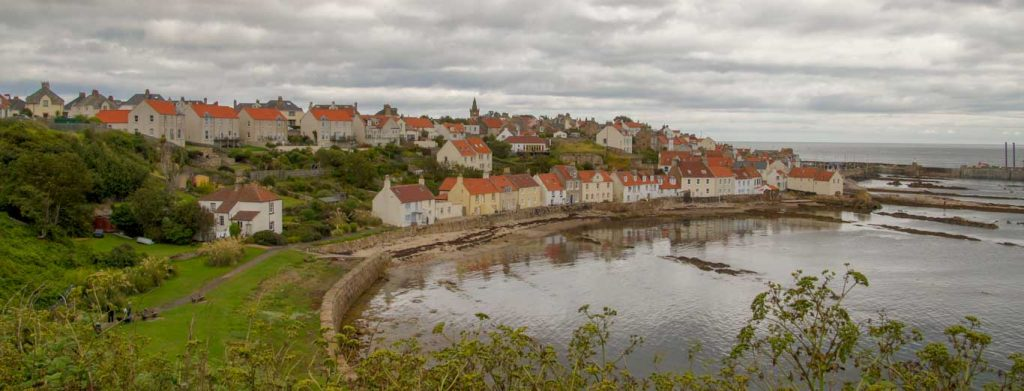 East Neuk and St Monans - My Itinerary and Map of the route