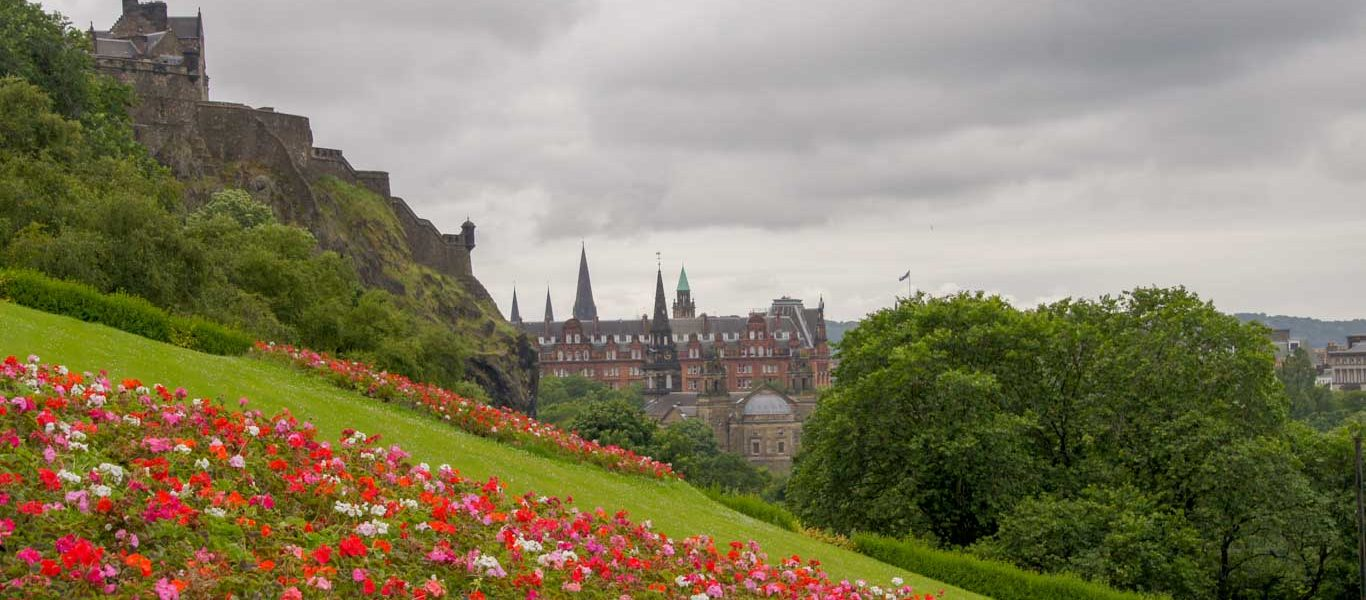 Edinburgh in 1 day - map and itinerary to see Edinburgh best places
