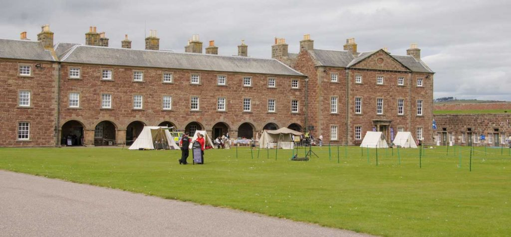 Fort George in the Highlands
