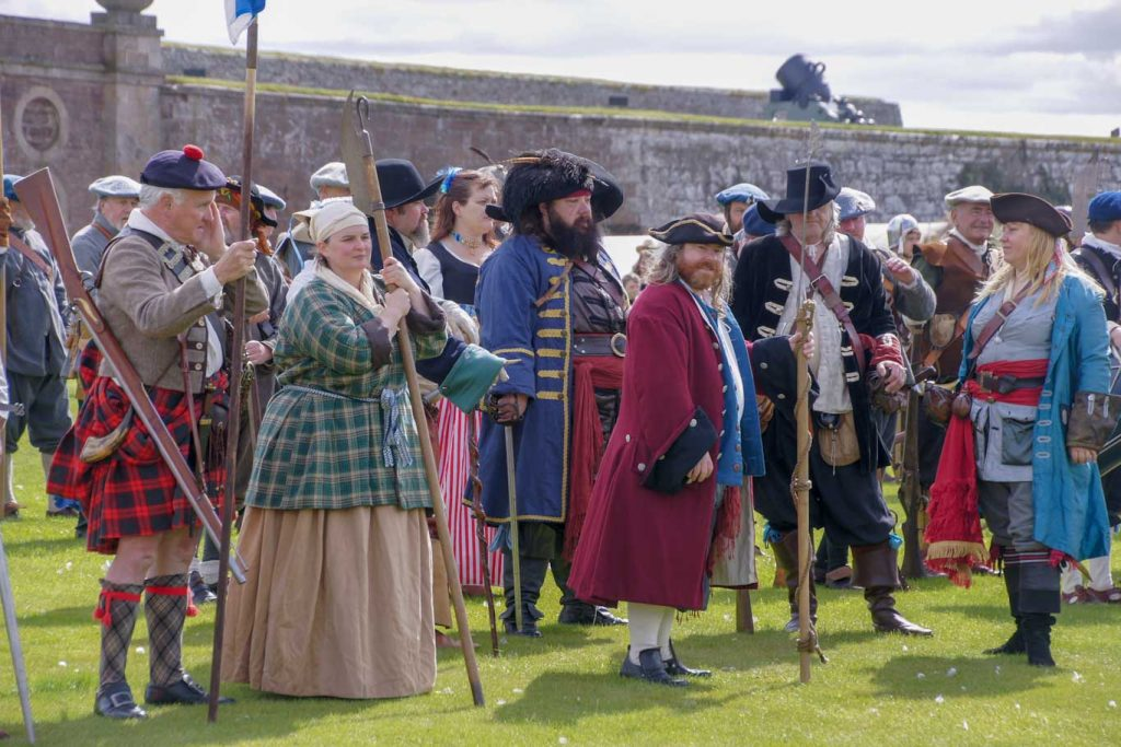 My visit in Fort Georges on my Highland tour