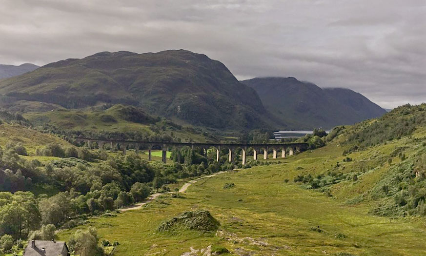 Glenfinnan and Harry Potter train