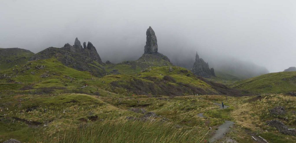 Isle of Skye and its Old Man of Storr