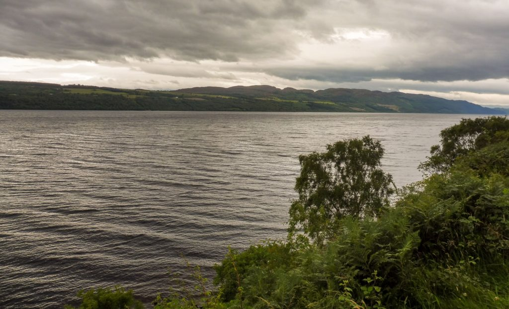 The Loch Ness for my 2 weeks scotland tour