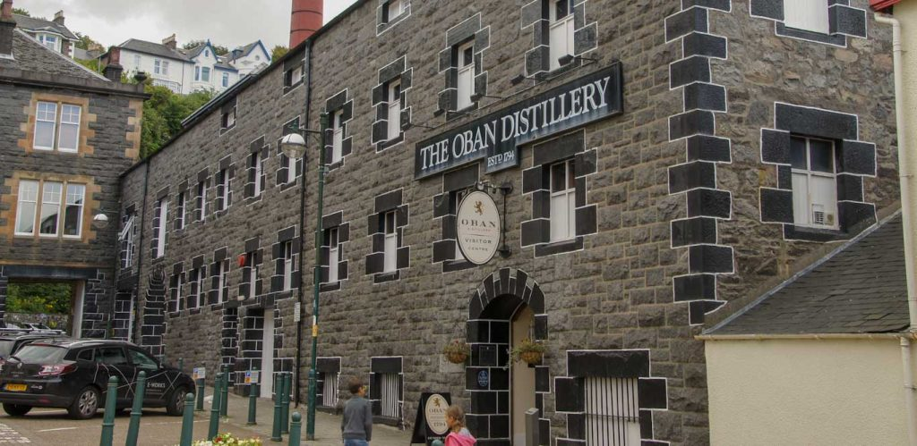 oban distillery in loch lomond region