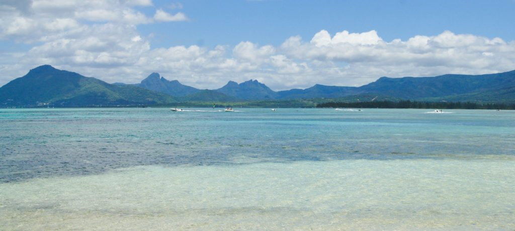best beaches in south coast of Mauritius island and best hotel