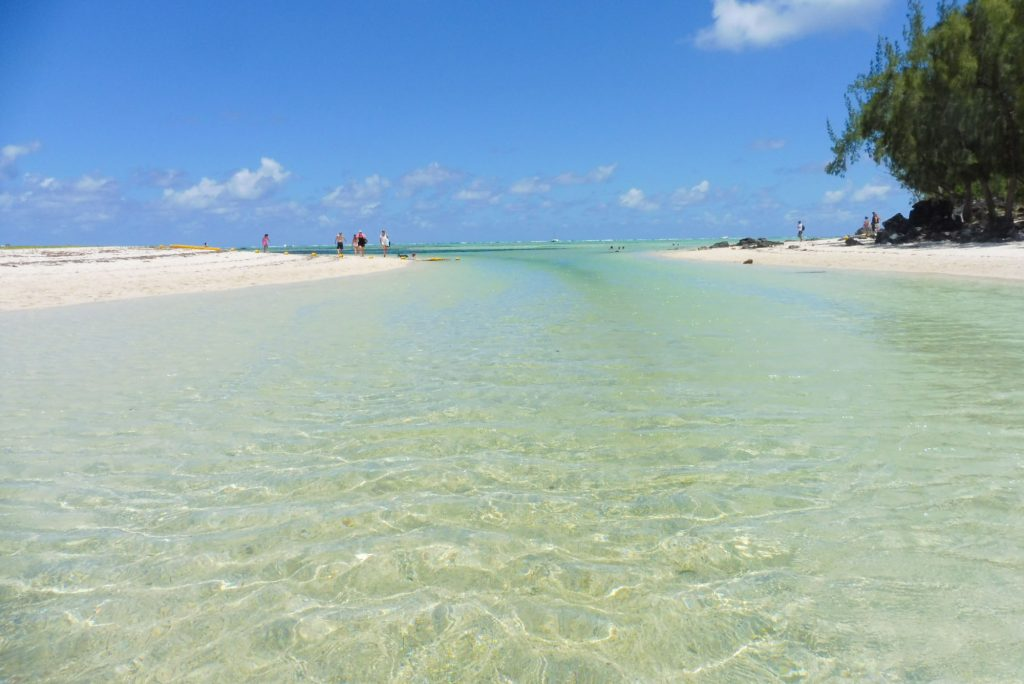 One of the Best Beaches East Coast Mauritius The Ile aux Cerfs