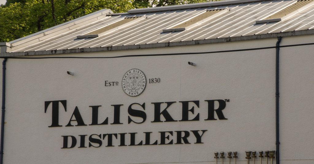 15 days in Scotland - Talisker Distillery on the Isle of Skye