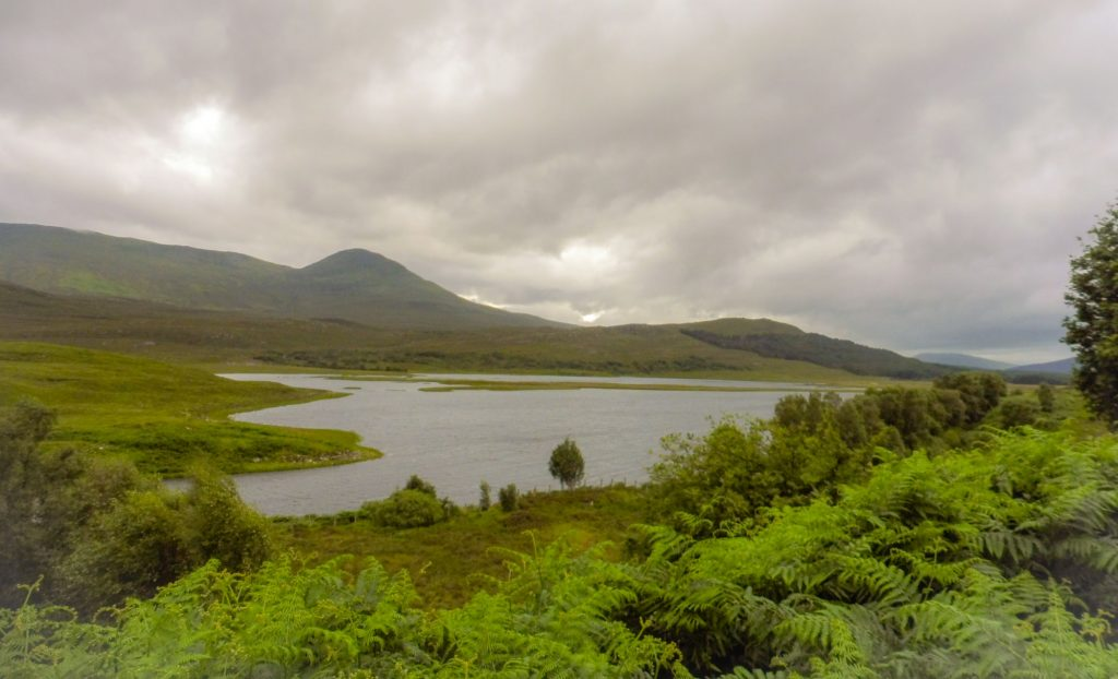 Highland Landscapes on our route to Inverness