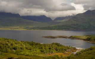 Cape on Torridon in the Highlands tour, itinerary and map