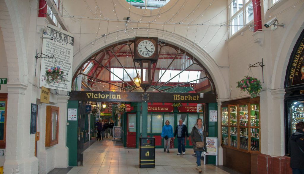 Highlands in the city of Inverness the Victorian Market